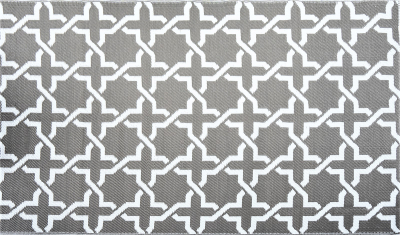 Jet-Line Outdoor Synthetic Rug MODERN 150 x 240 cm, grey