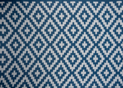 Outdoor Synthetic Rug Carpet Austin blue 120x180cm