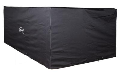 Jet-Line Cover / Tarpaulin for garden furniture 1,4 x 1,4 x 0,7 m, black - winterproof quality