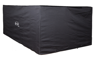 Jet-Line Cover / Tarpaulin for garden furniture 2,3 x 1,3 x 0,7 m, black - winterproof quality