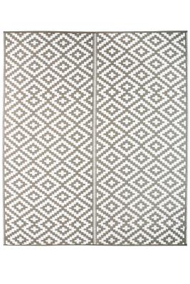 Jet-Line Outdoor Synthetic Rug AUSTIN 240 x 300 cm, grey
