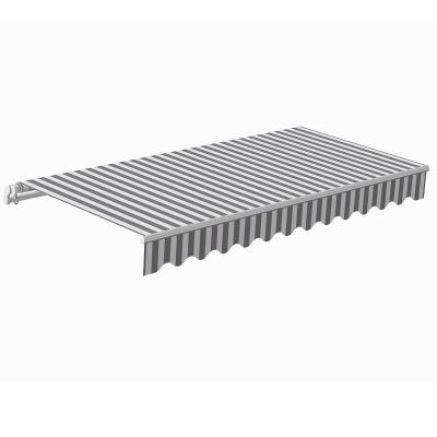 Awning Sunpower 5 x 3 m gray/white I