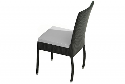 Garden chair Alba black