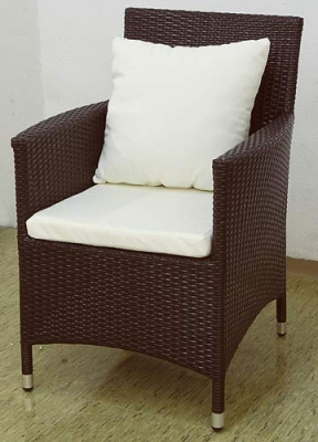 Garden chair Nizza brown
