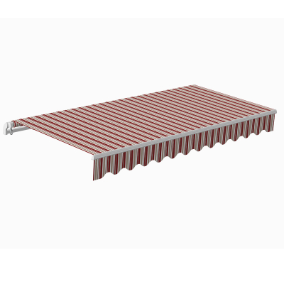 Awning Sunpower 5 x 3 m bordeaux/brown