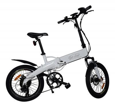 Klappfahrrad E-Bike (Jet-Bike) weiß