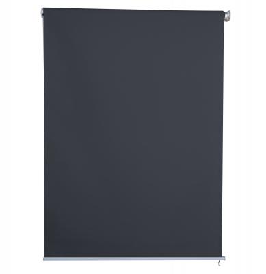 Sichtschutzrollo 1,2 x 2,3 m anthrazit Außenrollo