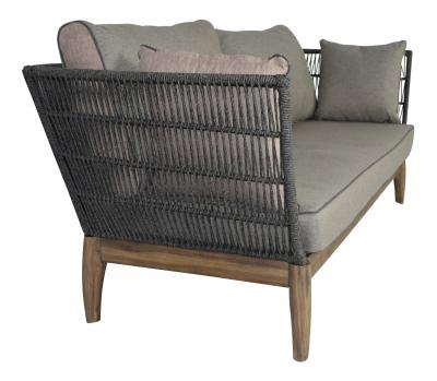 Garden sofa Puerto Rico for outdoor and indoor in gray