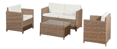 Lounge seating group garden furniture