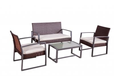 Garten Lounge Set Salamanca in braun