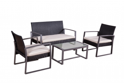 Lounge-Suite 'Salamanca', black