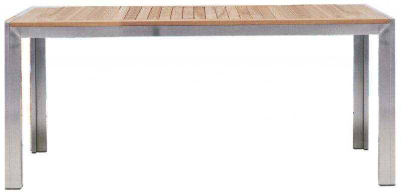 Terrassentisch Edelstahl.Tisch Für 1 6 M Hestia Akazienholz Edelstahl