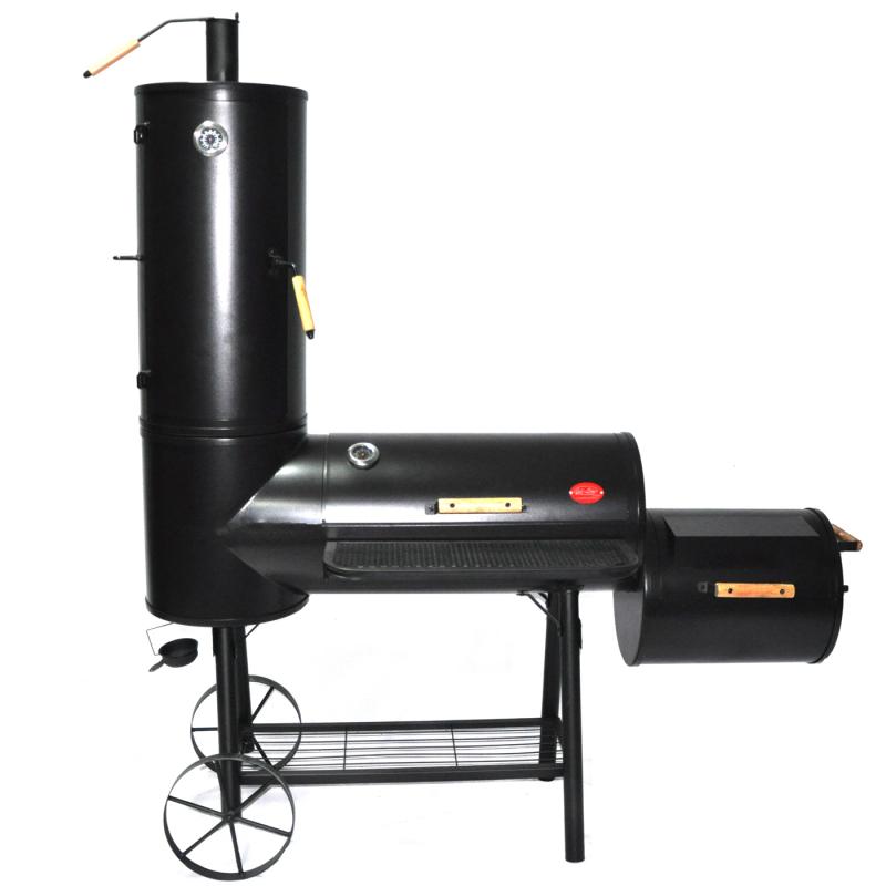 smoker grill r ucherofen ordern liefern gartenmoebel polyrattan und holz m bel von jet line. Black Bedroom Furniture Sets. Home Design Ideas
