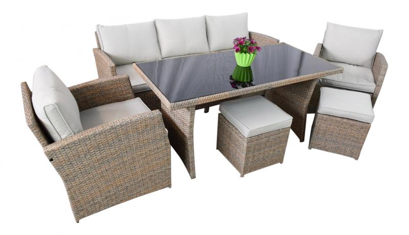 gartenm bel gartenset loungeset loungem bel gartenmoebel polyrattan und holz m bel von. Black Bedroom Furniture Sets. Home Design Ideas