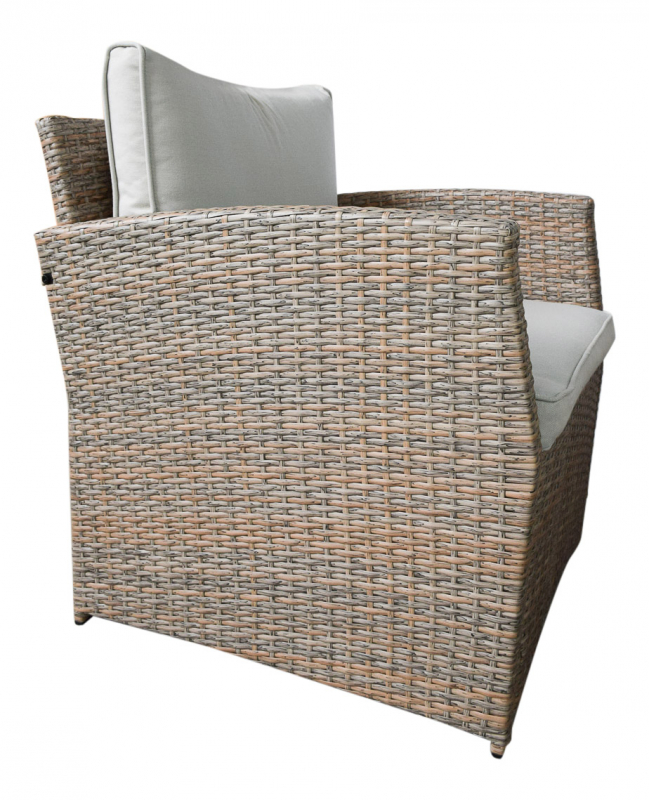 Jet-Line Gartenmöbel Gartenlounge Sitzgarnitur Loungemöbel Polyrattan