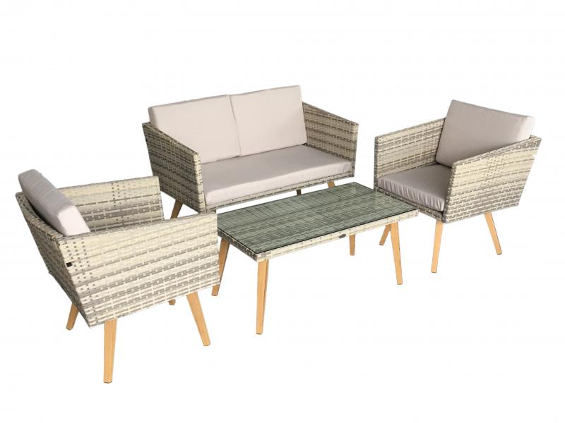 salon de jardin meuble de jardin terrasse rotin