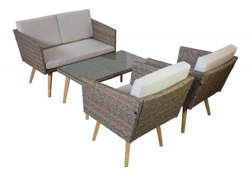garten m bel lounge design casis g nstig gartenmoebel polyrattan und holz m bel von jet line. Black Bedroom Furniture Sets. Home Design Ideas