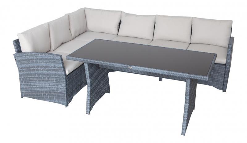 garten m bel lounge design ecksofa g nstig gartenmoebel polyrattan und holz m bel von jet line. Black Bedroom Furniture Sets. Home Design Ideas