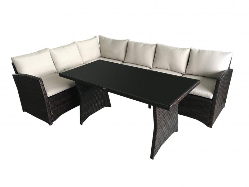meubles de jardin salon canapé set meubles de jard