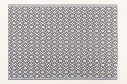Jet-Line Outdoor Synthetic Rug NEVADA 120 x 180 cm, grey