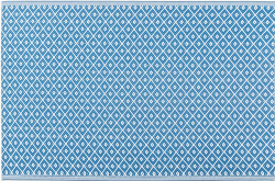 Outdoor Synthetic Rug Carpet Nevada blue 150x240cm
