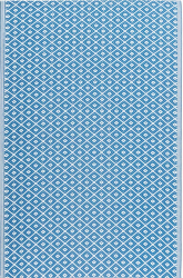 Outdoor Kunststoffteppich Nevada blau 150x240cm