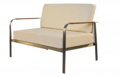 2-Sitzer Sofa für Gartenset