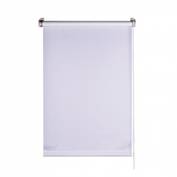 Roller Blind, white opaque 150 cm x 95 cm width