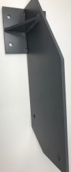 Jet-Line cassette awning holder for rafter-installation, anthracite