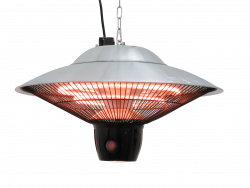 Jet-Line Electric Halogen Patio Heater Ceiling Lamp
