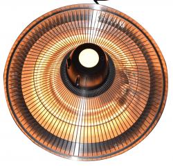 Jet-Line Electric Halogen Patio Heater Ceiling Lamp