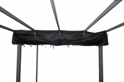 Jet-Line Cover for pavilion LUXOR 4 m, black
