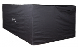 Jet-Line Cover / Tarpaulin for garden furniture 1,85 x 1,18 x 0,7 m, black - winterproof quality