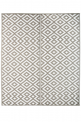 Jet-Line Outdoor Synthetic Rug AUSTIN 240 x 300 cm, grey