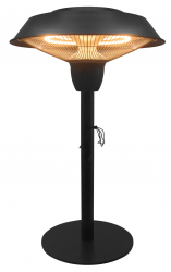 Electric patio heater POLLUX table lamp 1500 W