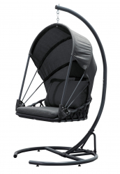 Hanging Chair SATURN, anthracite
