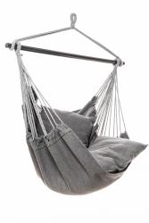 Jet-Line silla colgante Relax IV en gris oscuro
