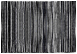 Jet-Line Outdoor Synthetic Rug MANDY 150 x 240 cm, black
