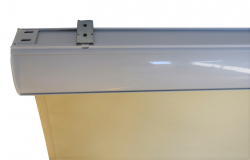 Jet-Line Outdoor Roller Blind with housing 1.2 x 2.3 m, beige