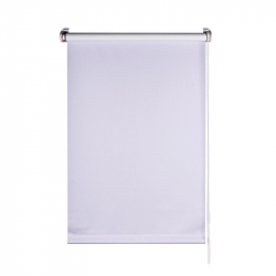 Roller Blind, white opaque 150 cm x 55 cm width