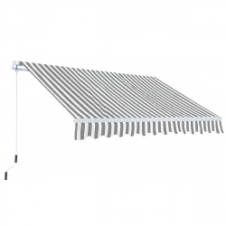Awning Suncare 3,6 x 2,5 m grey/white