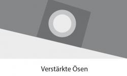 Abdeckplane Maastrich  1,85 x 1,4 x 0,70 m - transparent