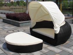 Sonneninsel Samoa schwarz Luxus Lounge Muschel XL