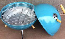 Mini Grill blau