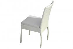 Garden chair Alba white