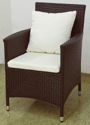 Garden chair Nizza brown