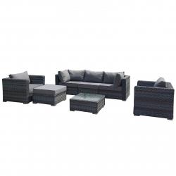 Gartenmöbel Lounge Antigua mit Alurahmen