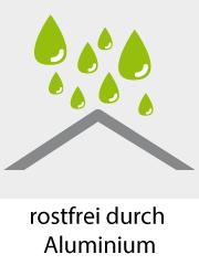 Garteninsel Bozen schwarz/rot Alu lounge Muschel