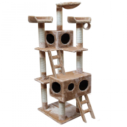 Cat tree 159 cm beige