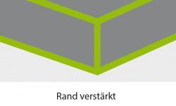 Abdeckplane Klarsicht für Gartenmöbel -  1,85 x 1,15 x 0,75 m
